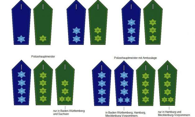 Polizei Laufbahn: Mittlerer Dienst
