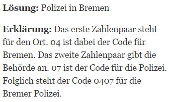 Einstellungstest Polizei Konzentrationsvermögen Der