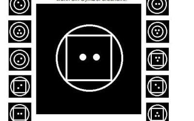 Der Polizei Konzentrationstest mit Symbolen