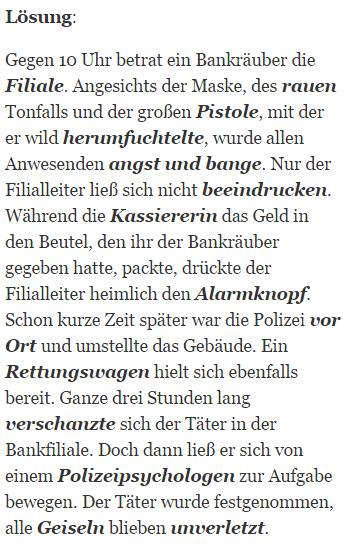 Deutschtest Polizei Im Einstellungstest Polizeitest