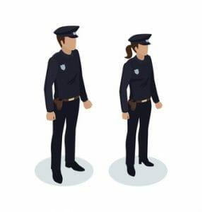 Mindestgröße Polizei