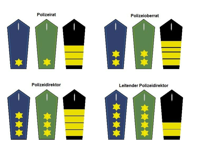 höherer Dienst Polizei Dienstgrade