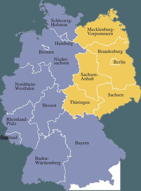 Einstellungstest Polizei: Unterschiede der Bundesländer