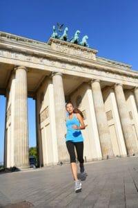 Sportprüfung der Berliner Polizei