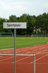 Sportprüfung der niedersächsischen Polizei